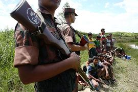 Кровь в Мьянме