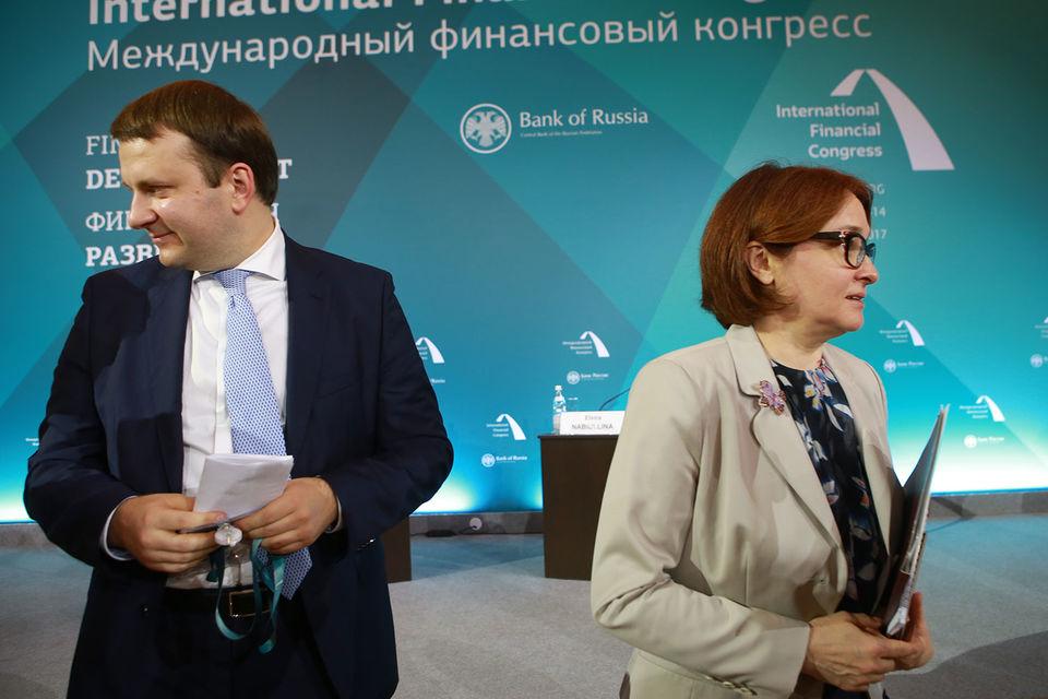 Министр экономического развития Максим Орешкин предложит председателю ЦБ Эльвире Набиуллиной быть мягче с банками