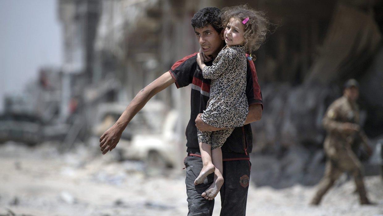 Дети из Чечни, спасенные в Ираке, пробыли в Мосуле больше года