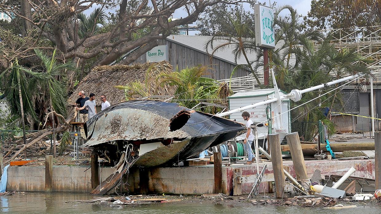 ОАЭ выделили $10 млн пострадавшим от урагана «Ирма» странам