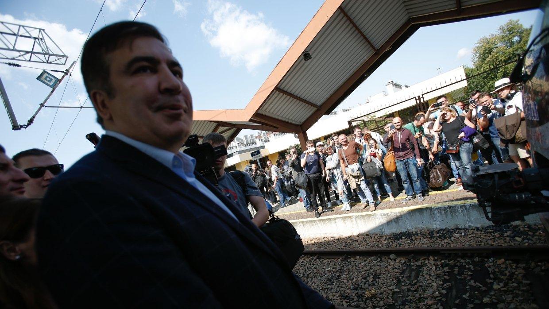 Политологи рассказали о роли Саакашвили в разжигании нового «Майдана»