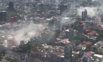 Более 40 человек погибли в результате землетрясения в Мексике