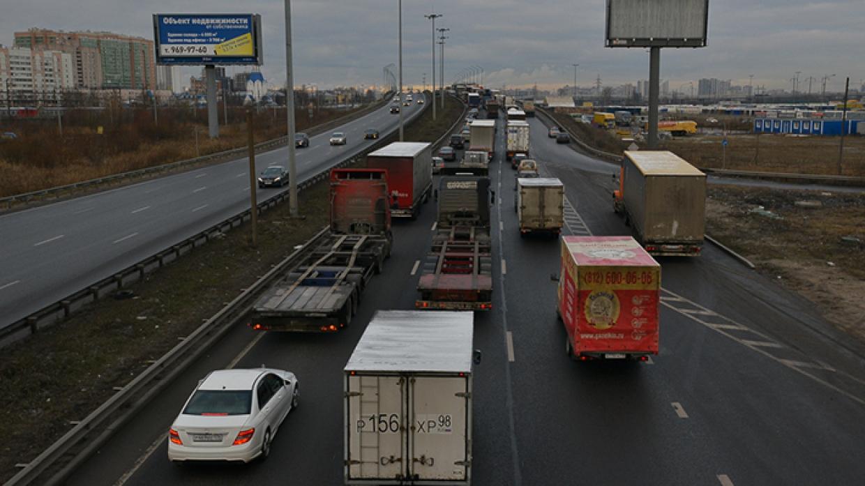 Пробки сковали Нижний Новгород вечером 29 сентября