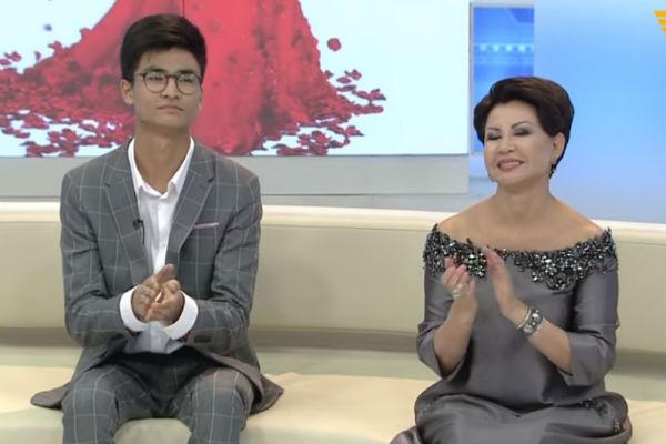 Младший сын певицы учится в Казахстане
