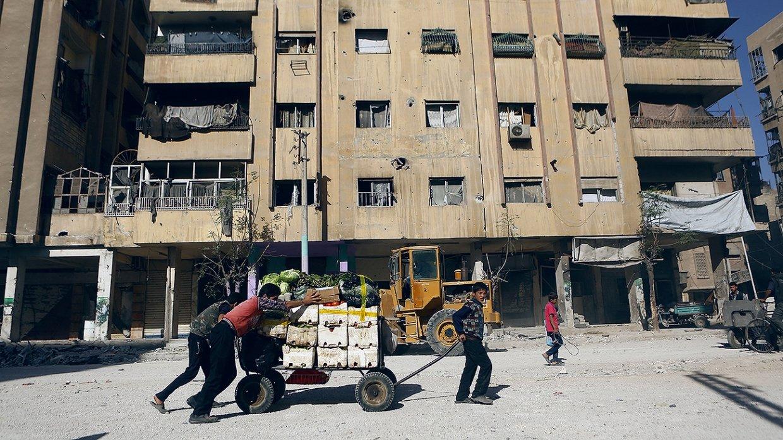 Сирия: де Мистура и замглавы МО РФ обсудили успехи в борьбе с террористами