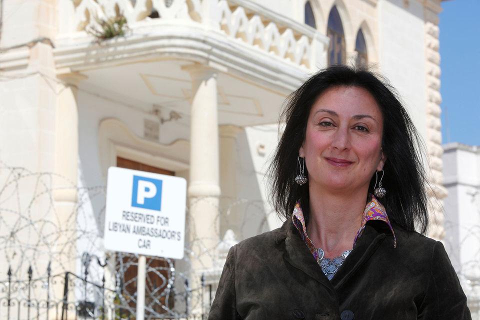Журналистка Дафне Каруана Галиция