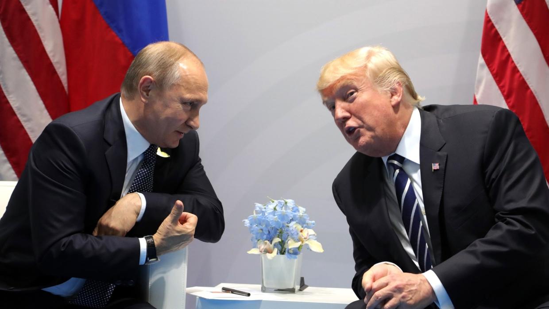 Белый дом назвал главную тему возможной встречи Путина и Трампа