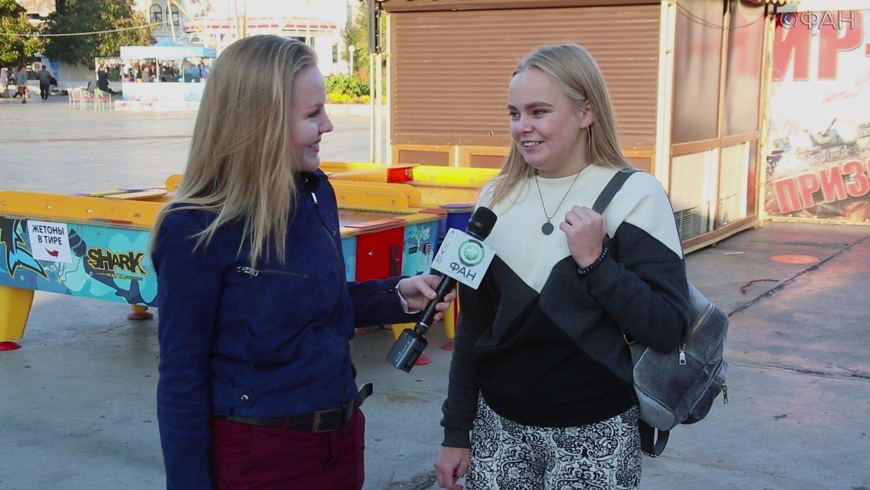 Крымчане продолжают смеяться над Собчак: А на Украине в выборах участвовал Дарт Вейдер. ФАН-ТВ