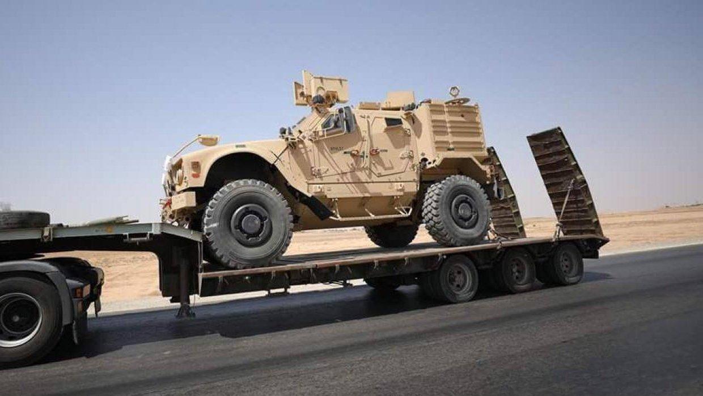 Сирия: США передали SDF 120 грузовиков с тяжелым вооружением и бронетехникой