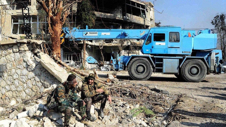 Власти Сирии и оппозиция договорились о снятии напряженности вокруг Дамаска