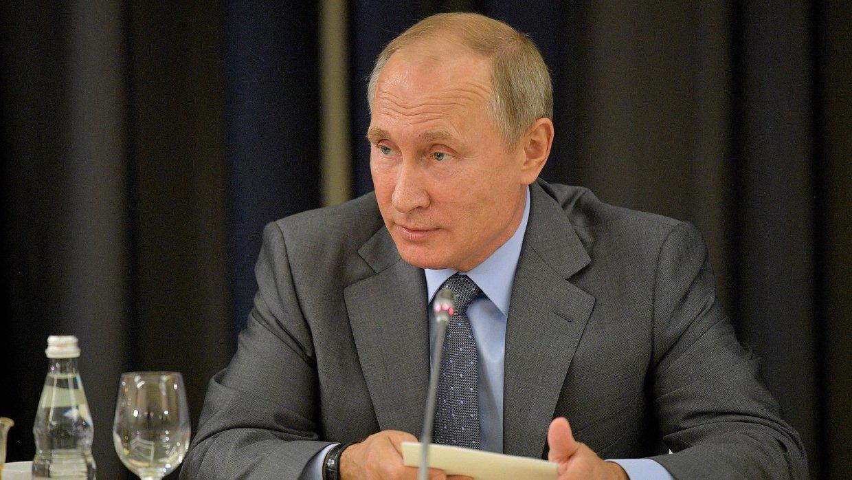 Путин поздравил участников и гостей чемпионата мира по самбо в Сочи с открытием турнира