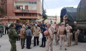 Сирия: российские военные доставили в Даръа более 2 тонн гуманитарной помощи