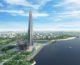 Небоскреб Лахта Центр — этапы строительства