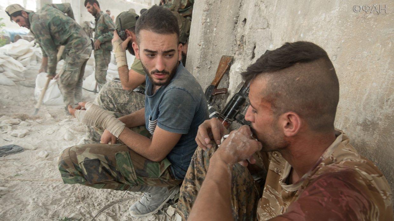 Дамаск: на востоке провинции пять группировок вошли в состав ССА