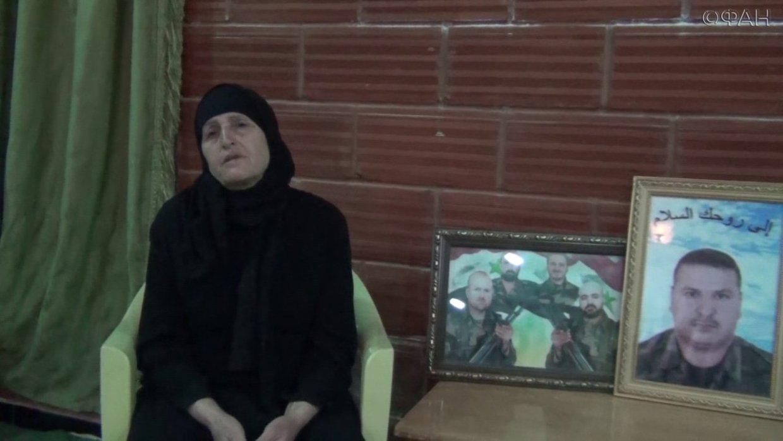 Потерявшая на войне в Сирии четверых сыновей мать согласилась рассказать ФАН свою историю