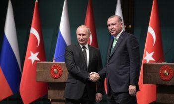 Сирия: Путин отметил позитивный вклад Турции в примирение сторон
