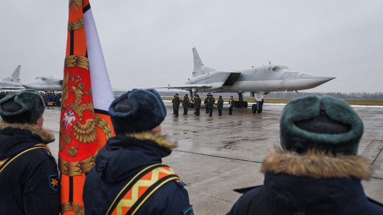 Летчики ВКС РФ вернулись в Калугу после успешного выполнения задач в Сирии