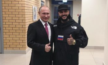 Фото Тимати с Путиным в Instagram набрало рекордное количество лайков