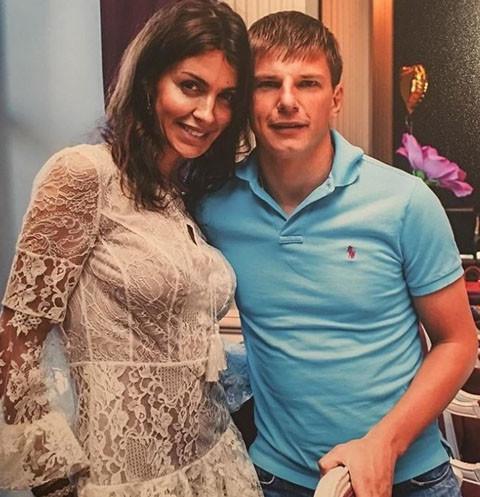 Андрей Аршавин с женой