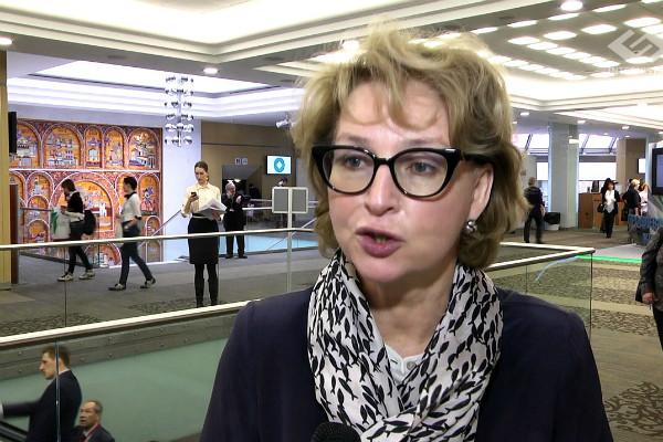 Ирина Ивановна на профильной конференции