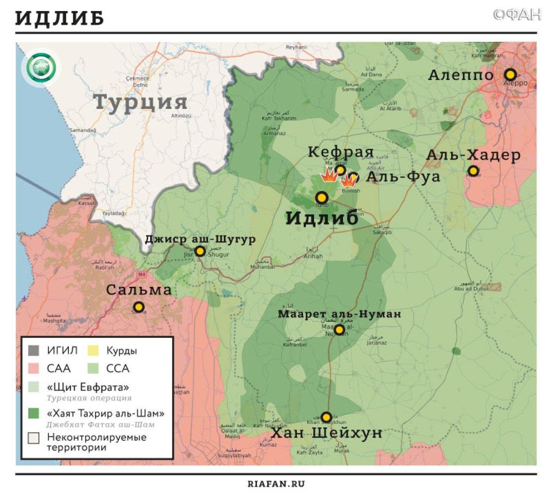 Сирия новости 4 января 22.30: ВКС РФ обеспечивают продвижение САА к авиабазе Абу Духур, ССА отбила атаку ИГ в Даръа
