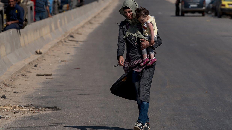 Сирия: 390 мирных жителей вернулись домой за минувшие сутки