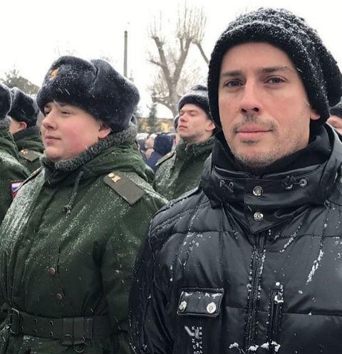 Максим Галкин с племянником Никитой