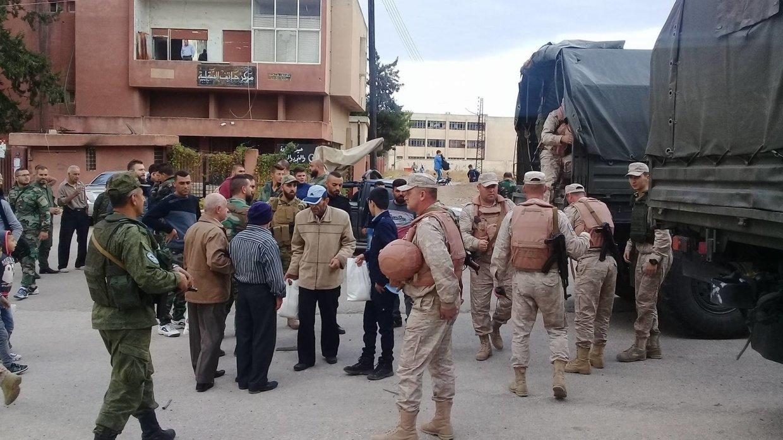 Сирия: 155 человек вернулись в свои дома в провинциях Дейр-эз-Зор, Дамаск и Хомс