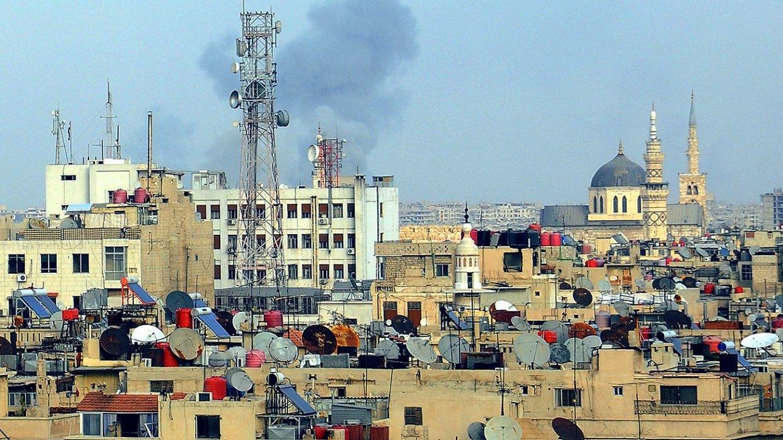 Сирия: более 80 мин выпустили боевики из Восточной Гуты по жилым кварталам Дамаска