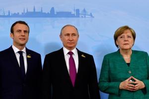 Телефонный разговор Макрона и Меркель с Путиным: Политолог рассказал подробности