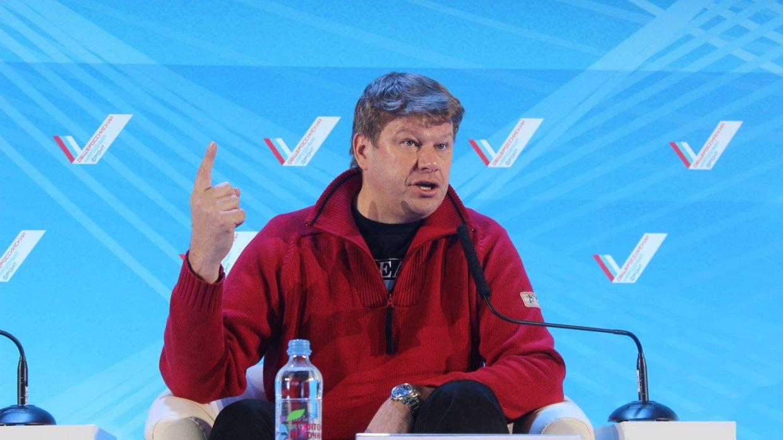 Губерниев прокомментировал решение Киева бойкотировать этап Кубка мира по биатлону в РФ