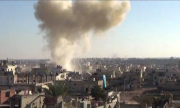 Сирия: пять мирных жителей погибли при обстреле боевиками района Маззе под Дамаском