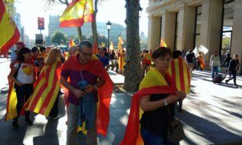 Столкновения произошли между протестующими и полицией в Барселоне