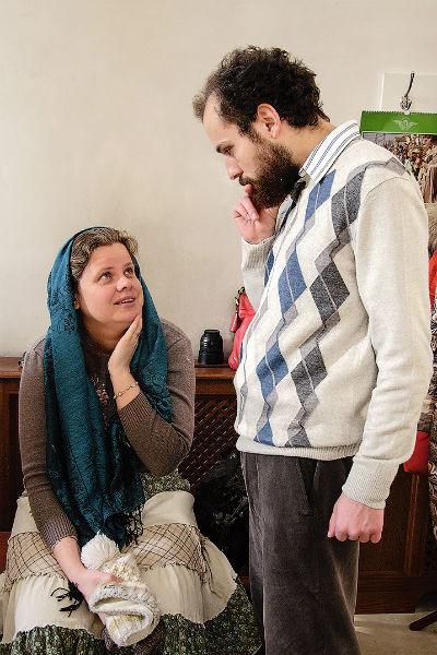 Наталья влюбилась в него, когда увидела, как Георгий, обвешенный сумками, перевозил одну из одиноких старушек на другой конец Москвы