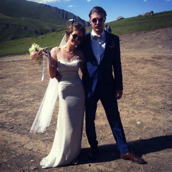 Свадьба Никиты и Яны прошла в Грузии в деревни Гергети