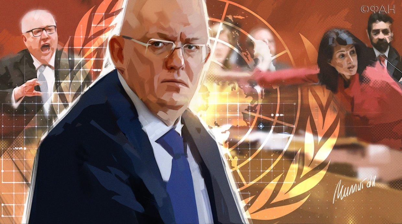 Небензя заявил, что Запад инвестирует в «темные силы» в Сирии