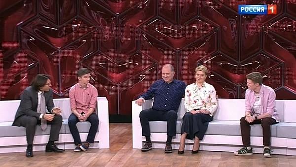 Сыновья Владимира тоже появились в студии передачи