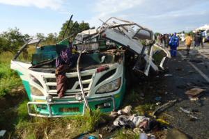 В Уганде в смертельном ДТП погибли 48 человек, среди них 16 детей