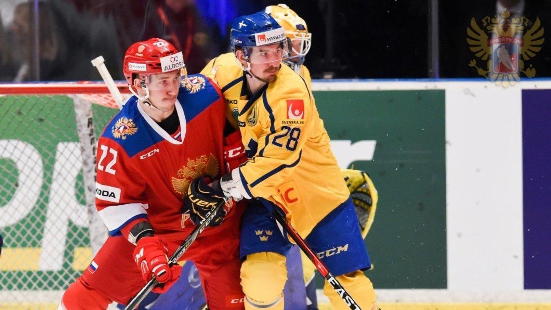 Швеция победила Россию со счетом 3:1 в матче группового этапа ЧМ-2018 по хоккею
