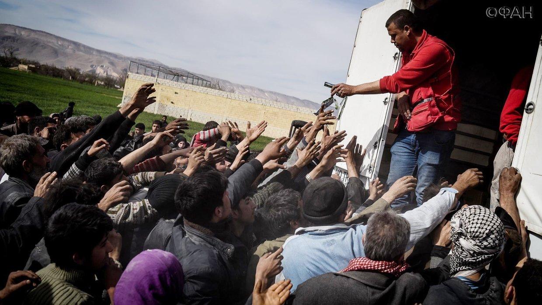 Сирия: более 300 мирных жителей вернулись домой за минувшие сутки