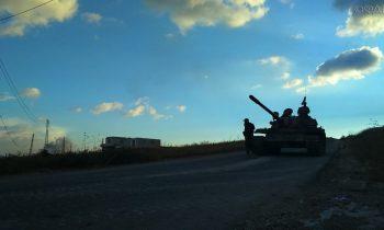 Сирия: видео запуска ракеты САА по израильскому самолету в Хомсе появилось в Сети