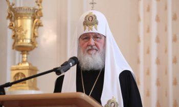 Дети погибших сирийских военных спели Патриарху Кириллу «Катюшу»