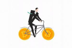 В Британии изобрели первый в мире криптовелосипед