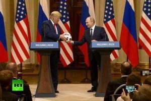 Подарок Путина Трампу проверила служба безопасности