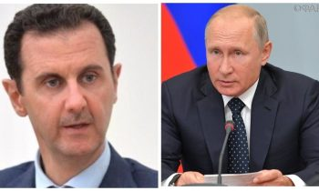 Сирия: Асад направил Путину телеграмму с соболезнованиями по поводу крушения Ил-20