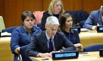 Россия призвала ООН дать оценку захвату российской дипсобственности со стороны США
