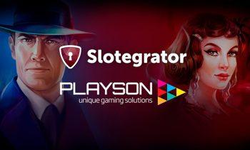 Playson – новый партнер компании Slotegrator