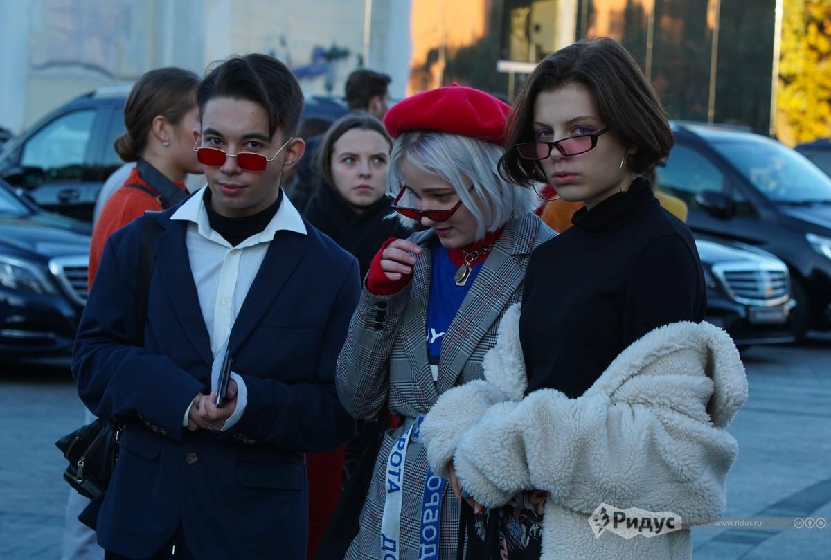 Модные фрики осадили центр Москвы