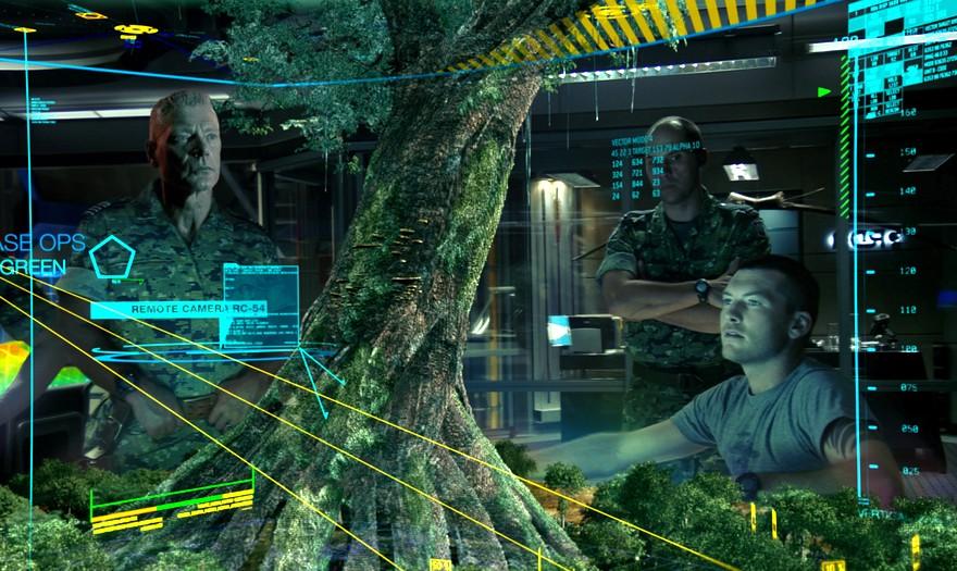 Интерфейс будущего из фильма Аватар