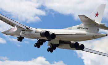 Приземление Ту-160 ВКС РФ в Венесуэле попало на видео